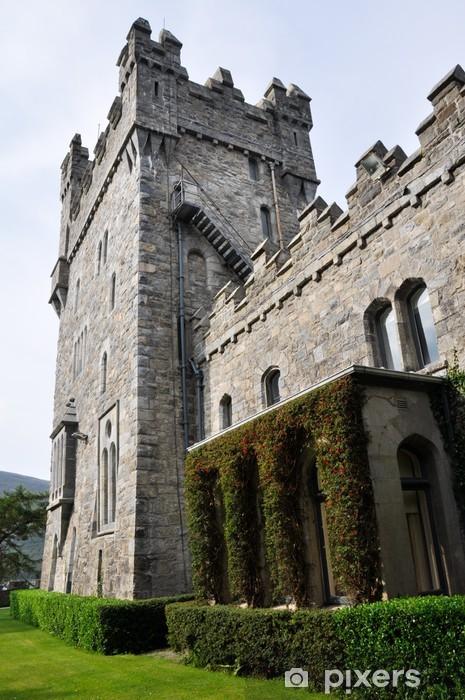 Naklejka Pixerstick Glenveagh Zamek, Donegal, Irlandia - Europa
