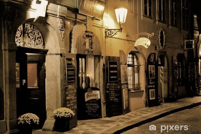 Fotomural Estándar Romantisches abendessen en prag - Praga