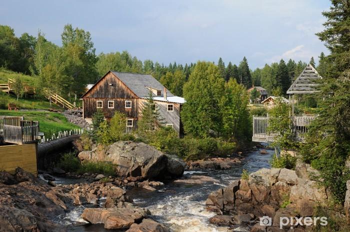 Fototapeta winylowa Quebec, Mill Pioneer w La Dore - Wakacje