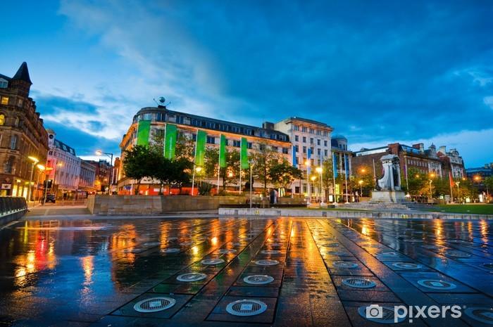 Fototapeta winylowa Piccadilly square manchester - Europa