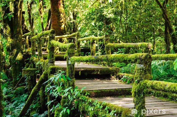 Sticker Pixerstick Moss et le pont - Autres