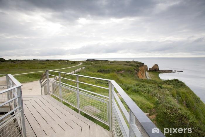 Fototapeta winylowa Pointe du Hoc w Normandii we Francji - Europa