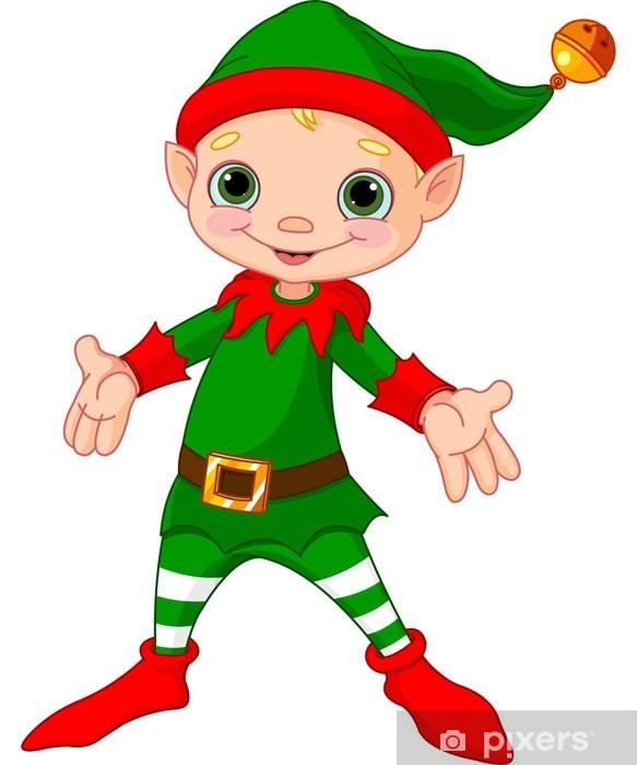 Naklejka Happy Christmas Elf Pixers Zyjemy By Zmieniac
