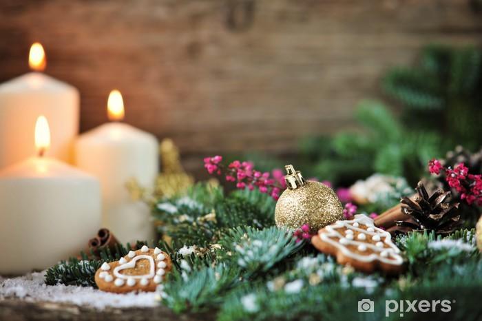 Fotobehang Gezellige Kerst Achtergrond Pixers We Leven Om Te