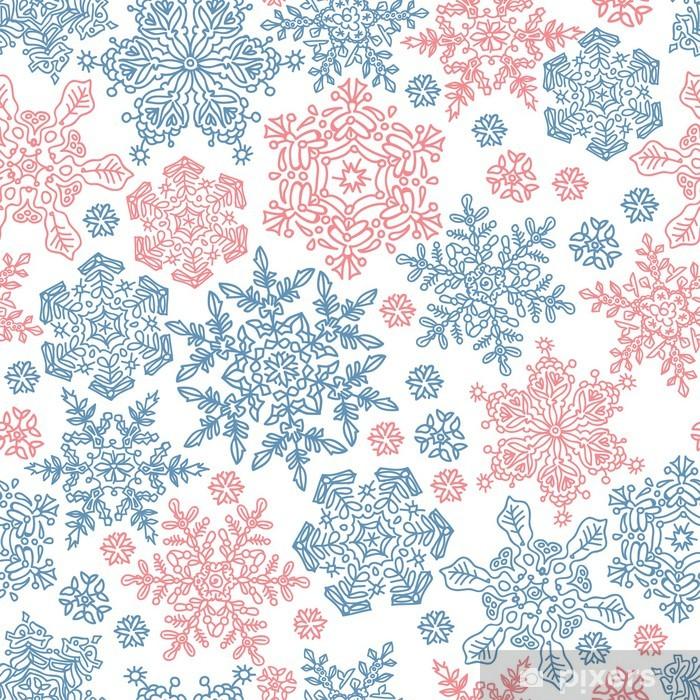 Vektor Schneeflocken Und Eiskristalle Schneeflocke