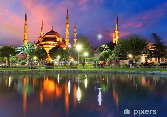 Fototapeta winylowa Błękitny Meczet w Stambule, Turcja - Tematy