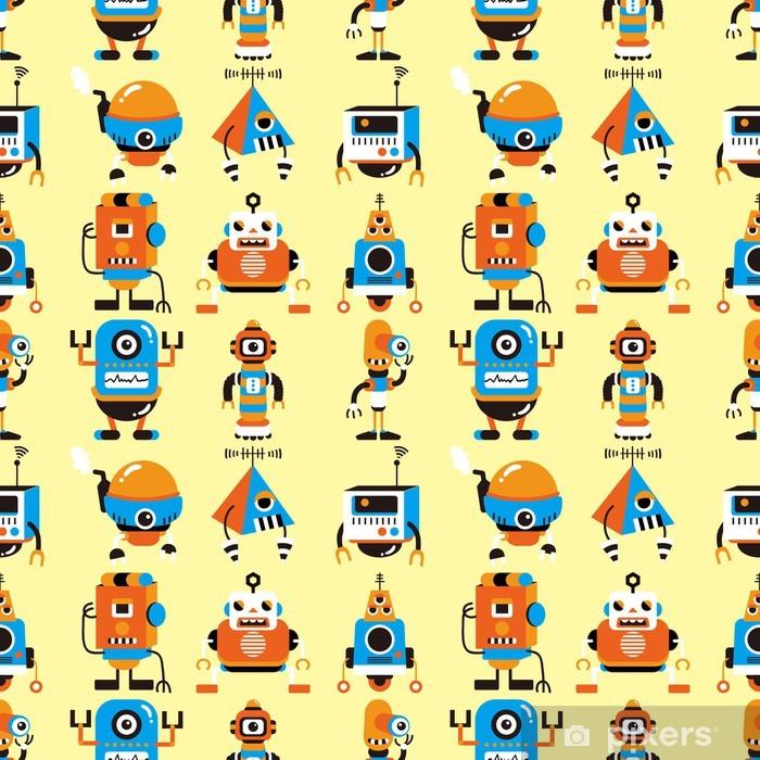 Naklejka Pixerstick Szwu robota - Dla przedszkolaka