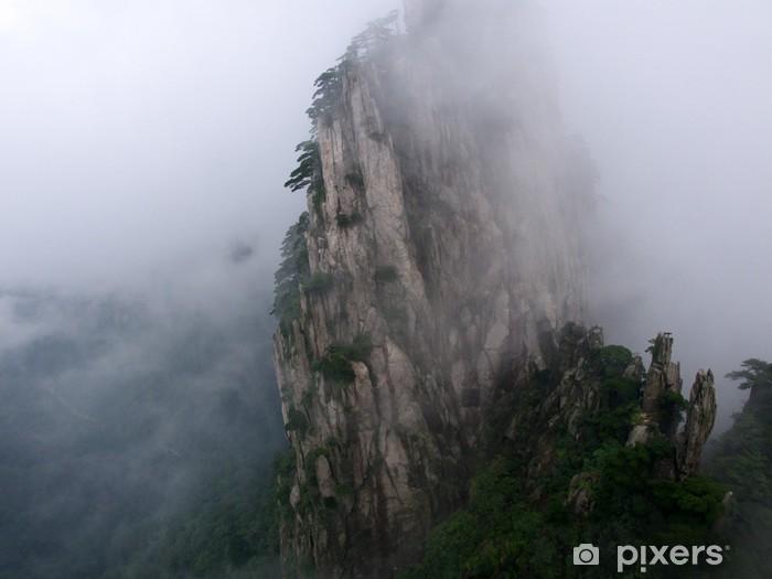 Naklejka Pixerstick Monts Huang Shan, Chine, - Azja