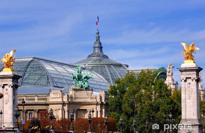 France, Paris: Grand Palais Pixerstick Sticker - Urban