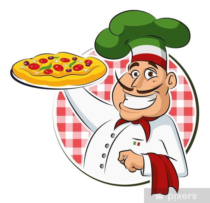 Adesivo Pizzaiolo • Pixers® - Viviamo per il cambiamento 7811ff5b213a