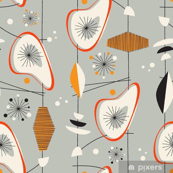 Seamless vintage pattern - Vector. Vinyl Wall Mural - Shops