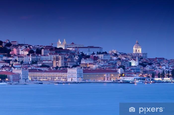 Naklejka Pixerstick Lizbona - Wakacje