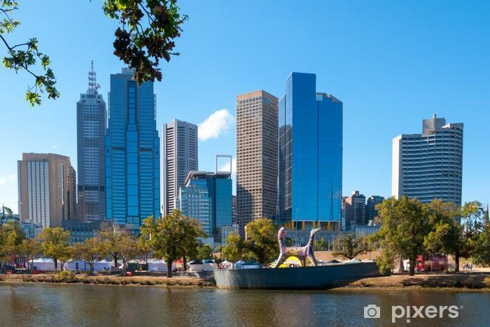 Melbourne Victoria Australia Pixerstick Sticker - Other
