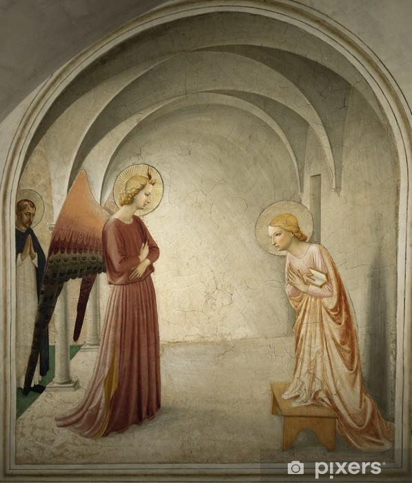 Nálepka Pixerstick Zvěstování (Florencie, Toskánsko) - Cestování