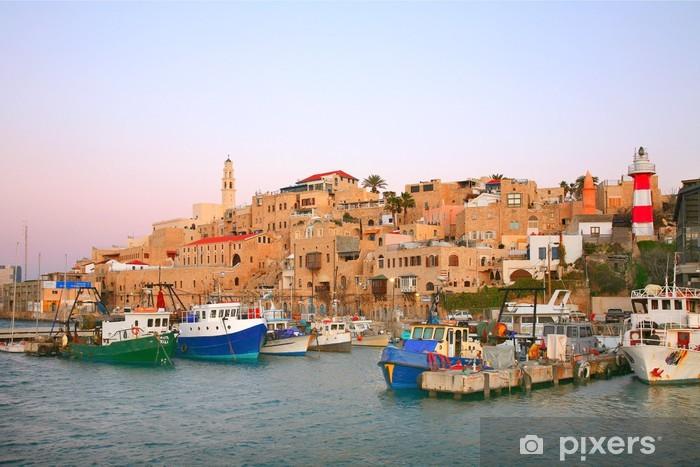 Pixerstick Dekor Den gamla hamnen i Jaffa. Tel Aviv - Mellanöstern