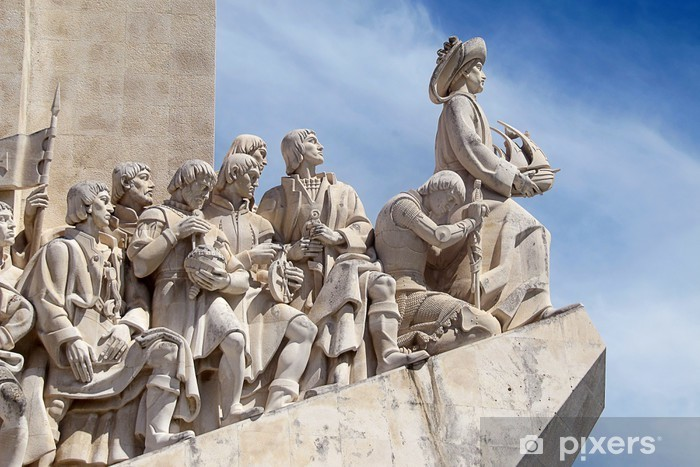 Papier peint vinyle Monument des Découvertes - Lisbonne (Portugal) - Villes européennes