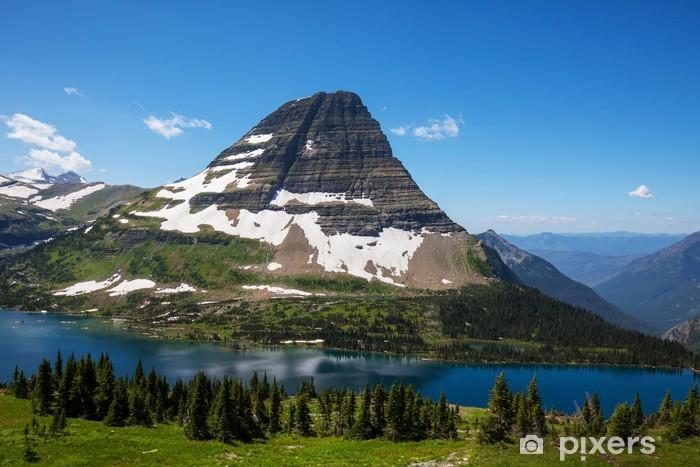 Vinilo Pixerstick Glacier Park - Montañas