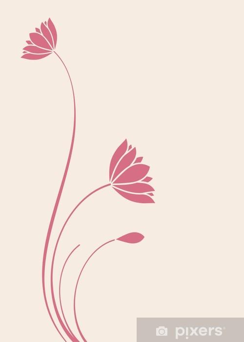Papier peint vinyle Nénuphars, bouddha, zen, yoga, beauté, Inde Royal - Asie