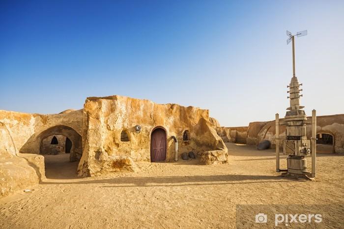 Papier Peint Autocollant Star wars décoration de film dans le désert du Sahara, en Tunisie - Thèmes