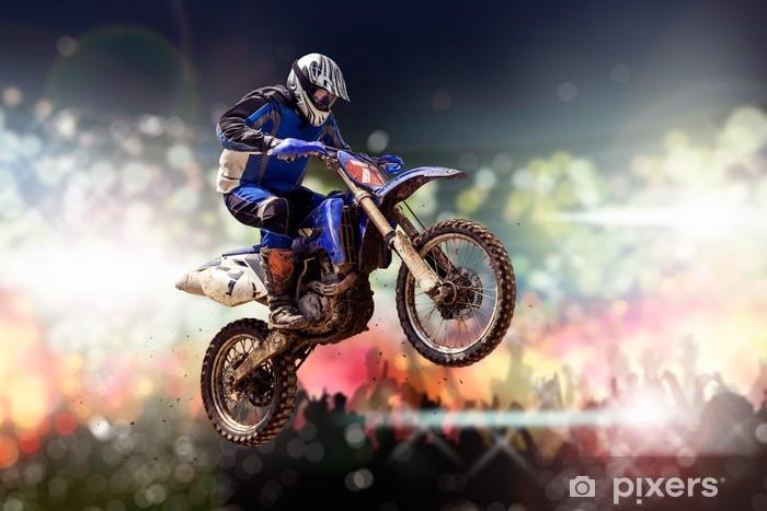 Vinyl Fotobehang Motocross - Extreme sport