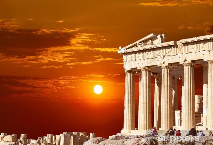 Fotomural Estándar Templo del Partenón en la Acrópolis de Atenas, Grecia - Estilos