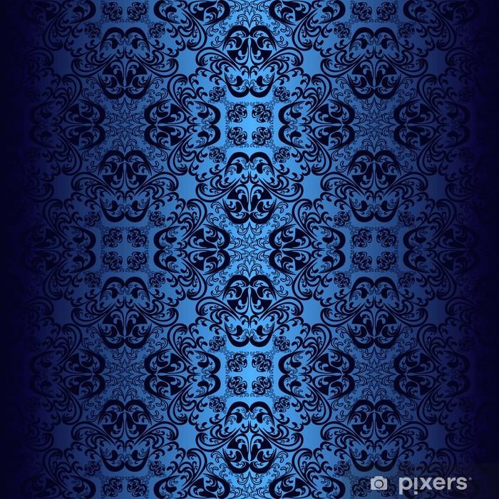 papier peint papier peint bleu fonc pixers nous vivons pour changer. Black Bedroom Furniture Sets. Home Design Ideas