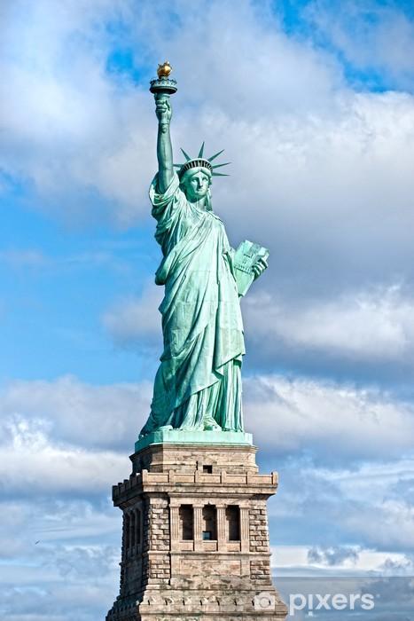 Vinil Duvar Resmi Özgürlük Anıtı, New York. AMERİKA BİRLEŞİK DEVLETLERİ. - Seyahat