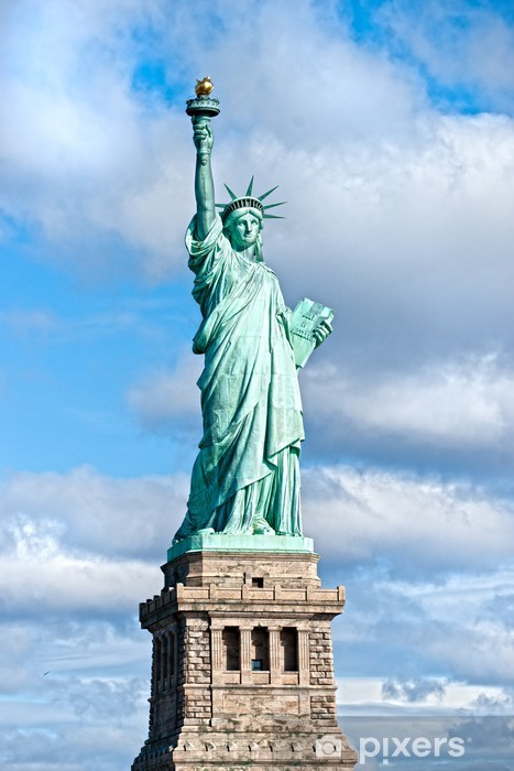 The Statue of Liberty, New York City. USA. Vinyl Wall Mural - Travel