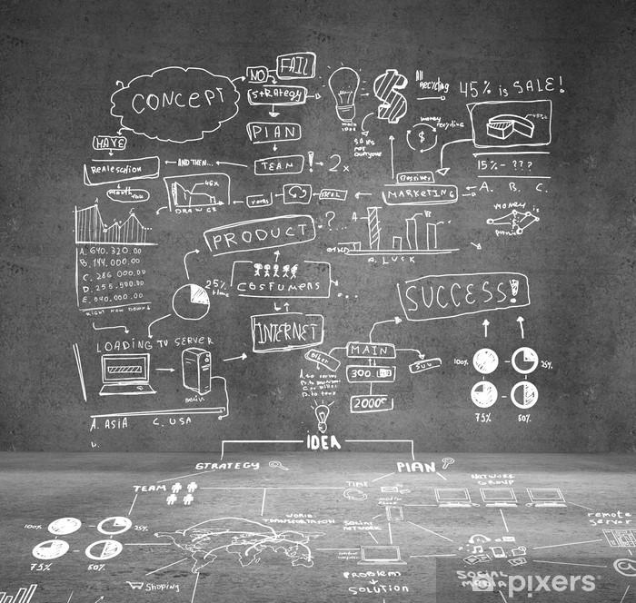 Plakat Globalna koncepcja - Biznes