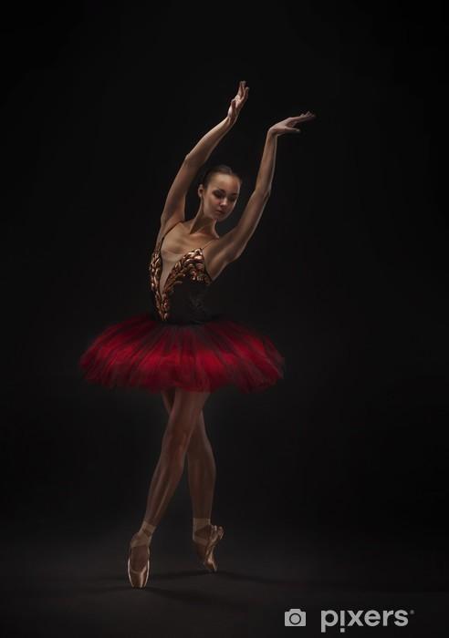 Fototapeta winylowa Piękna tancerka baletowa - Tematy