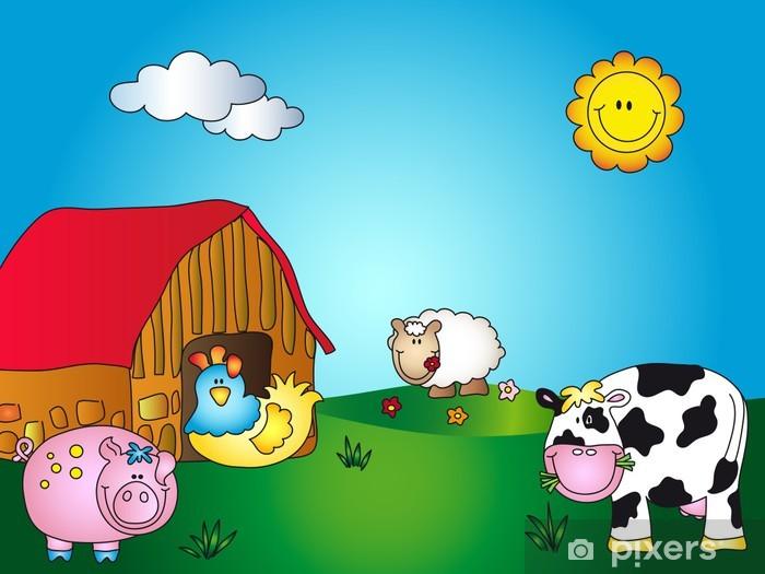 Animale fattoria cartone animato disegno k fotosearch
