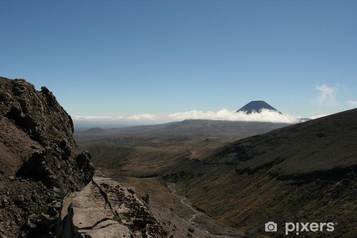 Fotomural Estándar トンガリロ 国立 公園 - Montañas