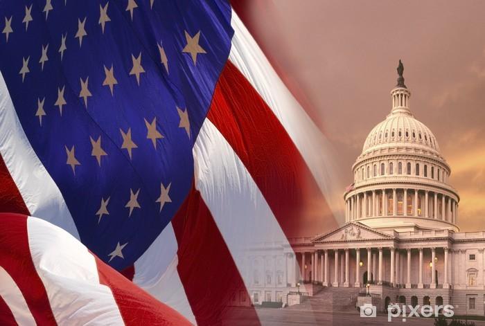 Pixerstick Aufkleber Washington DC - Vereinigte Staaten von Amerika - Amerika
