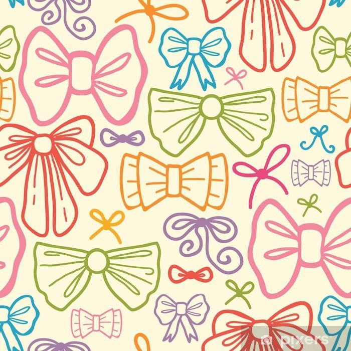 8616d19067 Carta da Parati in Vinile Vector archi colorati seamless con disegnata a  mano