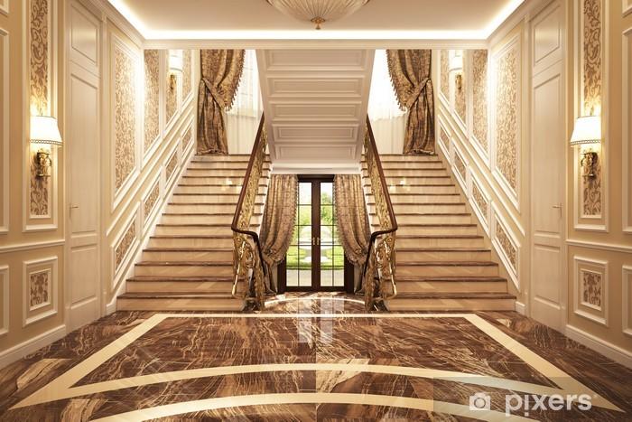 Fotomural Estándar Interior clásico en la casa - Construcciones particulares