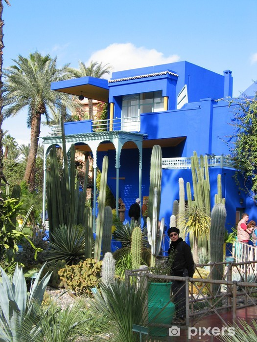 Jardin Majorelle Maroc Wall Mural Pixers We Live To Change