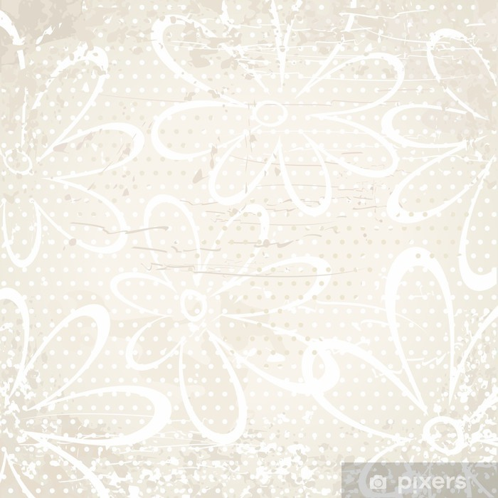 Papier Peint Vintage Background Beige Avec Des Fleurs Pixers