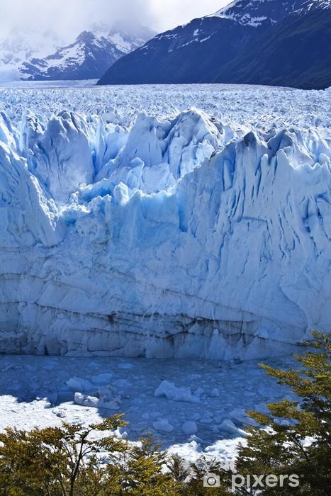Sticker Pixerstick Glacier Perito Moreno, en Patagonie, Argentine - Amérique