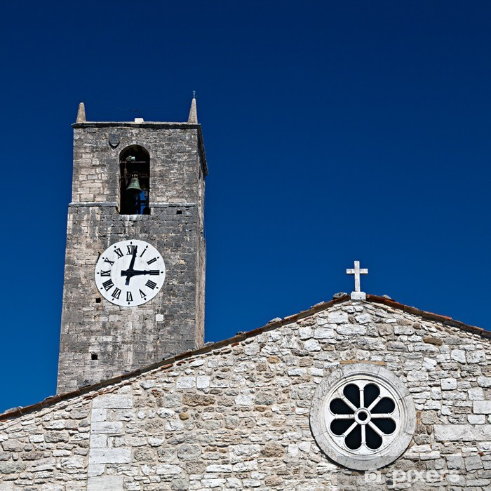 Fotomural Estándar Acquasanta Terme, la Iglesia de San Lorenzo en Paggese - Vacaciones