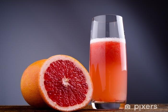 Nálepka Pixerstick Spremuta di pompelmo rosso - červená grapefruitový džus - Džus