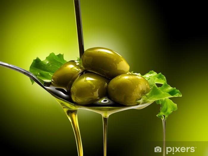 Naklejka Pixerstick Z oliwek i oliwki - Oliwki