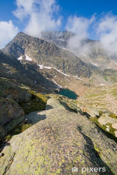 Naklejka Pixerstick Góra szalony, naturalny park z Alp Nadmorskich - Europa