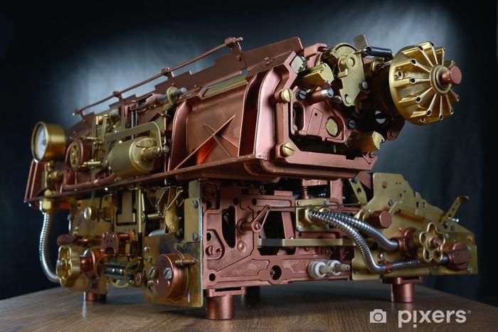Papier peint vinyle Le mécanisme de steampunk. - Steampunk
