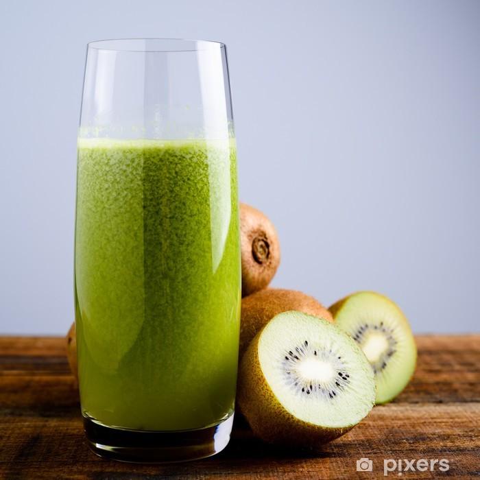Plakát Spremuta di kiwi - kiwi šťáva - Ovoce
