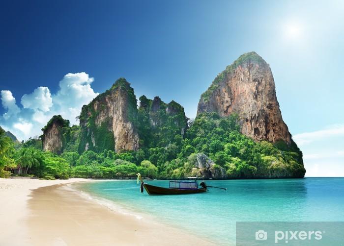 Fotomural Estándar Playa Railay en Krabi Tailandia - Agua