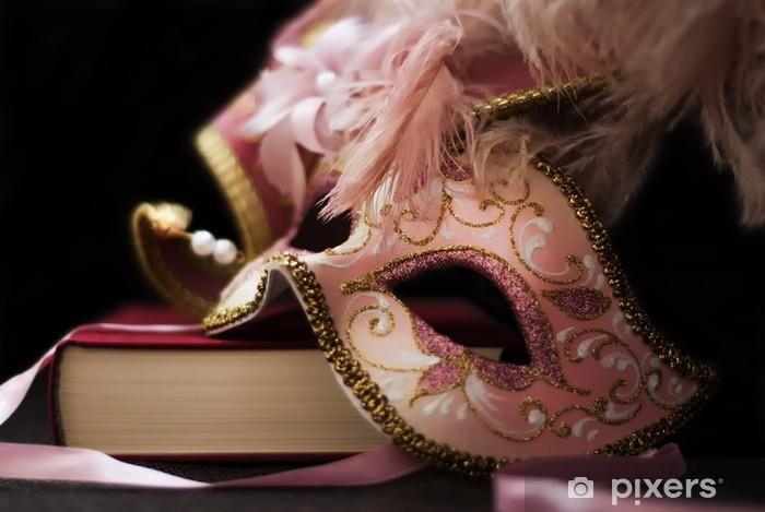 Vinilo Pixerstick Máscara de carnaval italiano - Entretenimiento