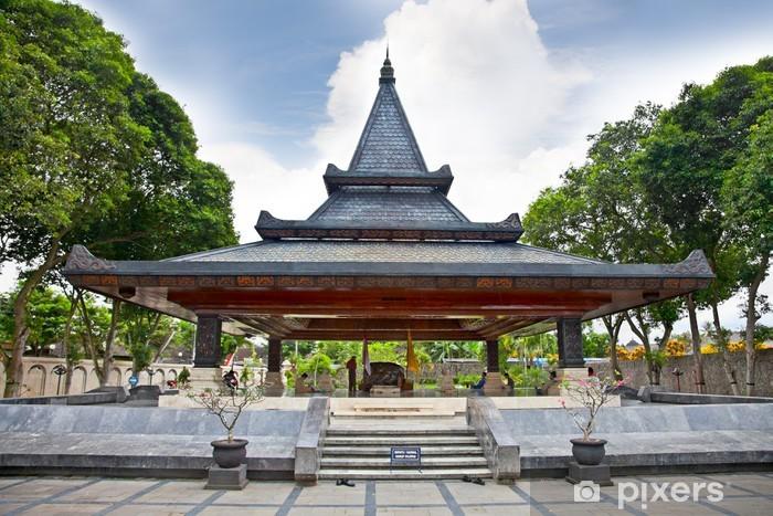Vinylová fototapeta Muzeum a knihovna indonéské 1. prezident Bung Karno - Vinylová fototapeta