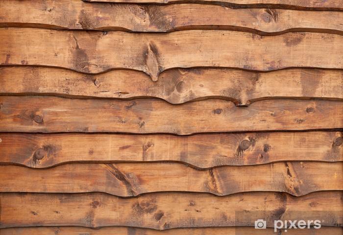 Sticker pour armoire Planches de bois non taillées - Textures