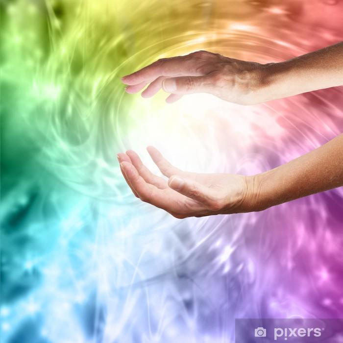 Fototapeta winylowa Healing Hands - Zdrowie i medycyna
