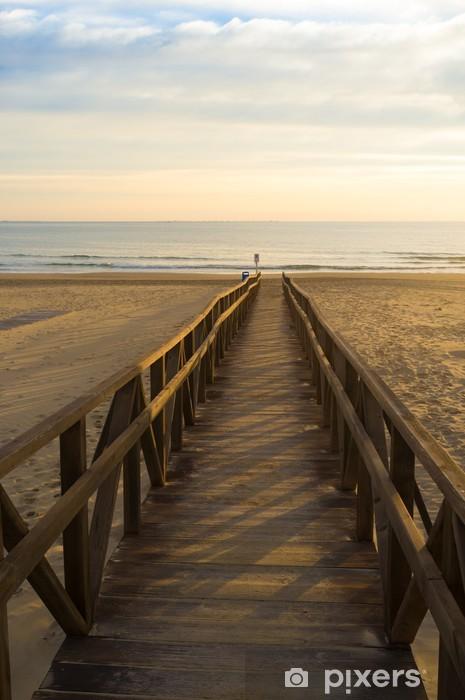 Fototapeta winylowa Chodnik na plażę - Europa